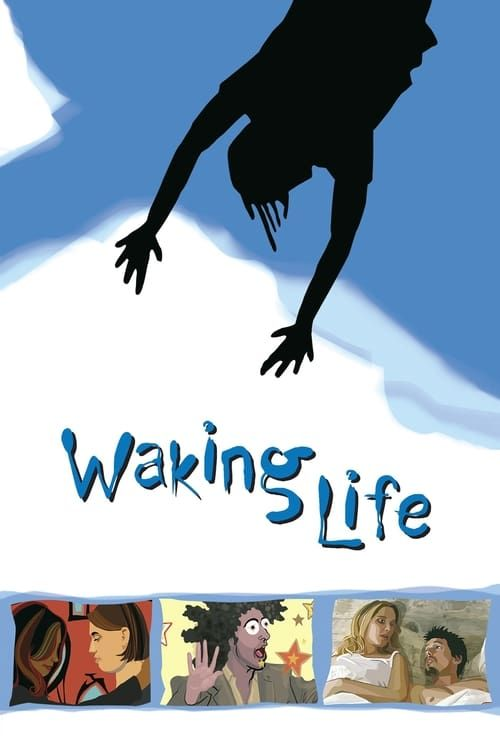 Key visual of Waking Life
