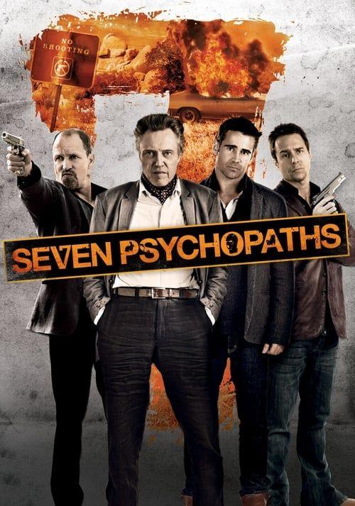 Key visual of Seven Psychopaths