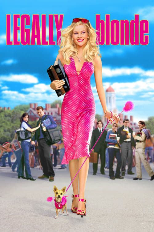 Key visual of Legally Blonde