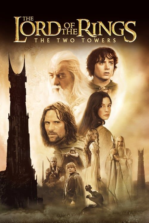 Key visual ofThe Lord of the Rings: The Two Towers
