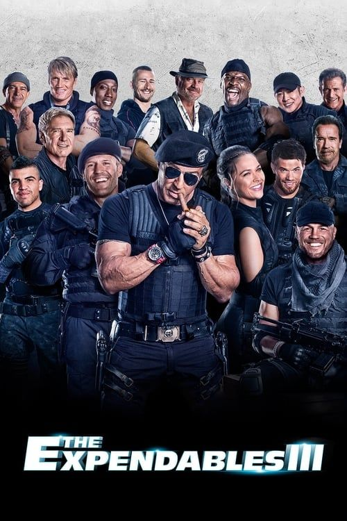 Key visual of The Expendables 3