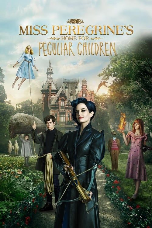 Key visual of Miss Peregrine's Home for Peculiar Children