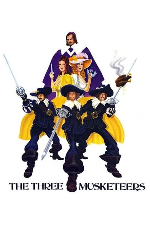 Key visual of The Three Musketeers