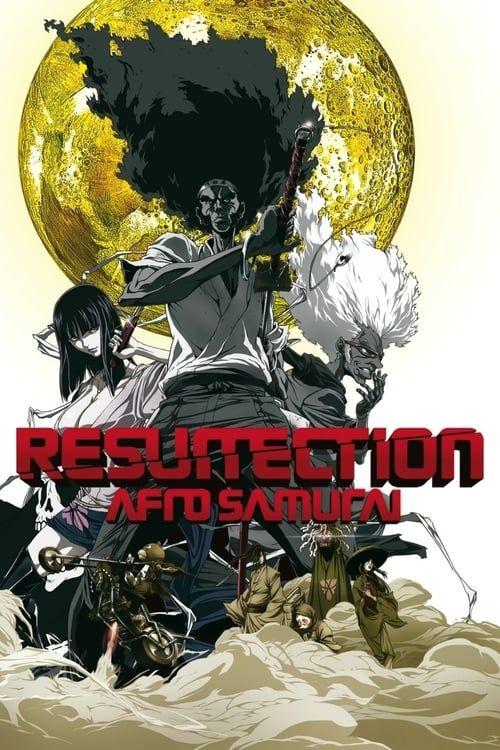 Key visual of Afro Samurai: Resurrection