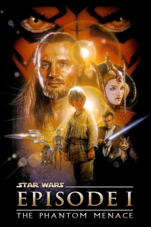 Key visual ofStar Wars: Episode I - The Phantom Menace