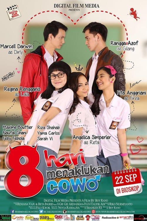 Key visual of8 Hari Menaklukan Cowo