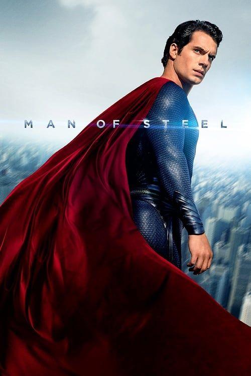 Key visual ofMan of Steel