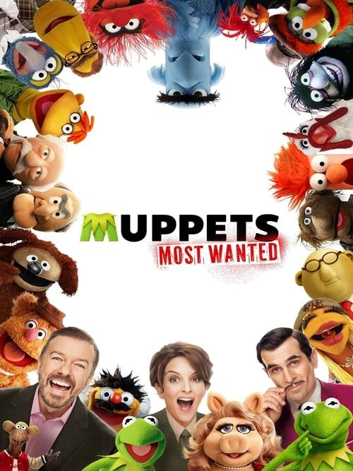 Key visual ofMuppets Most Wanted