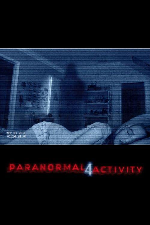 Key visual of Paranormal Activity 4