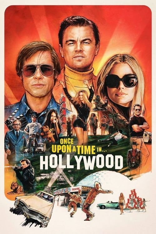Key visual of Once Upon a Time… in Hollywood