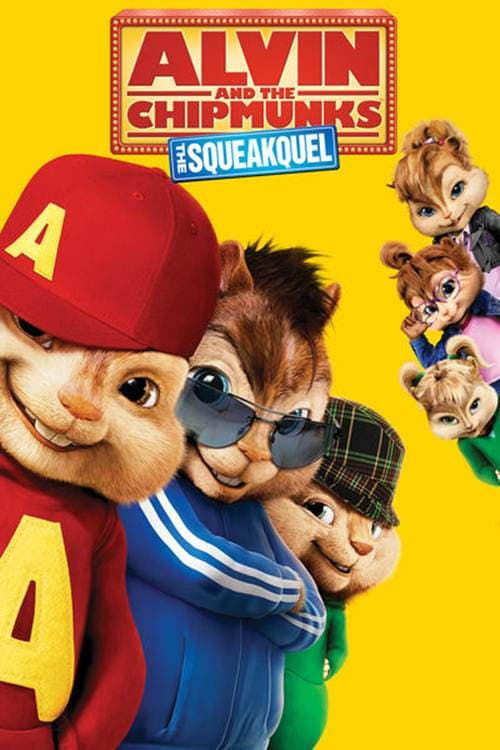 Key visual ofAlvin and the Chipmunks: The Squeakquel