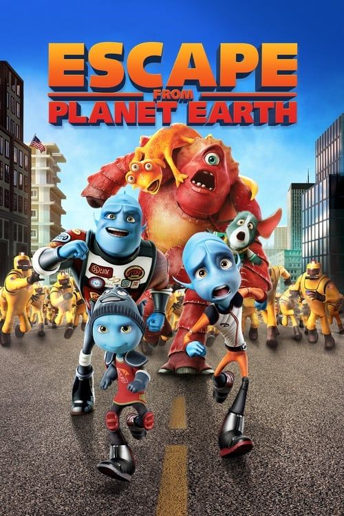 Key visual of Escape from Planet Earth
