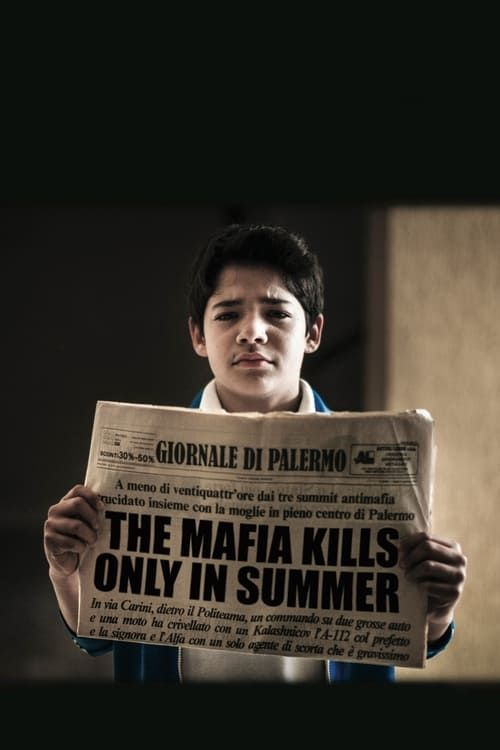 Key visual of The Mafia Kills Only in Summer