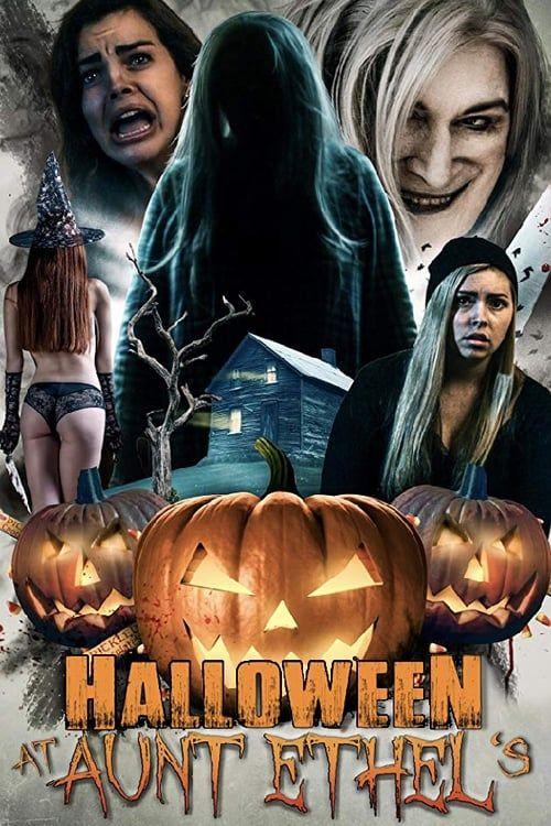 Key visual of Halloween at Aunt Ethel's