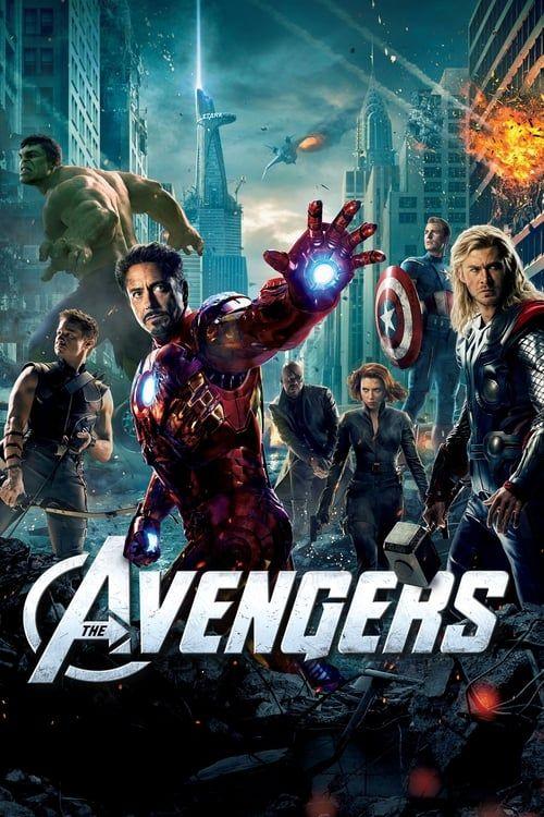 Key visual ofThe Avengers