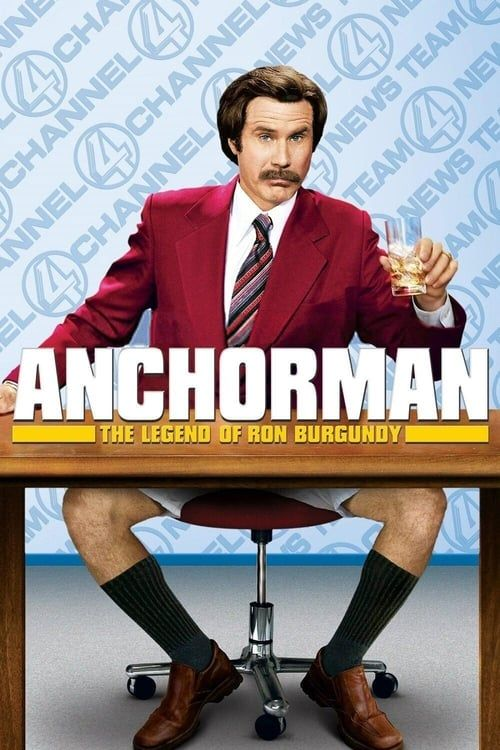 Key visual of Anchorman: The Legend of Ron Burgundy
