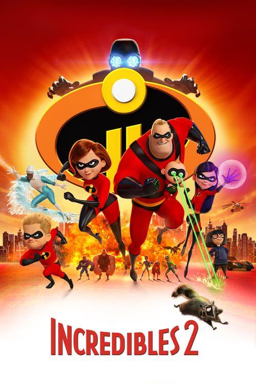 Key visual of Incredibles 2