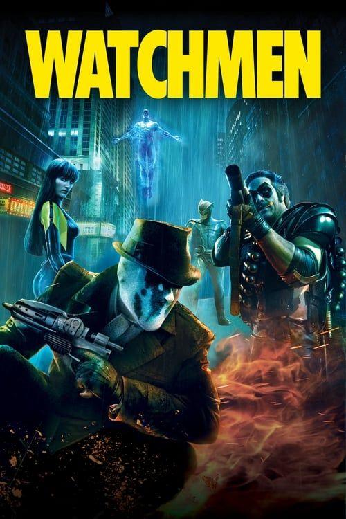 Key visual of Watchmen