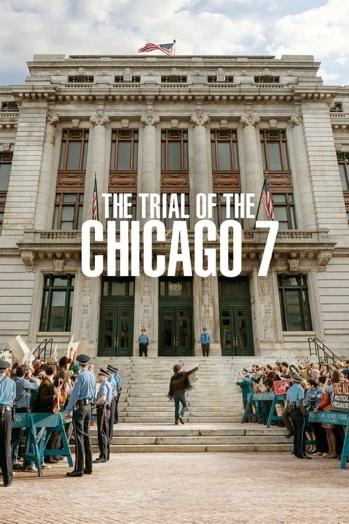 Key visual of The Trial of the Chicago 7