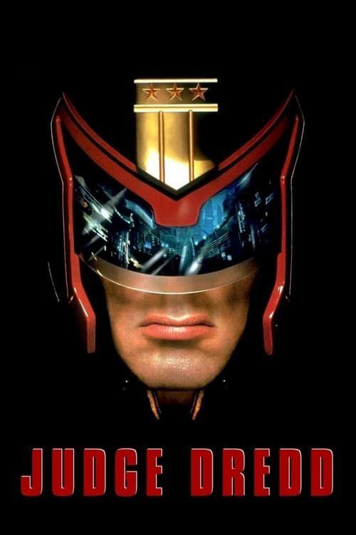 Key visual of Judge Dredd