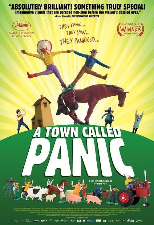 Key visual ofA Town Called Panic
