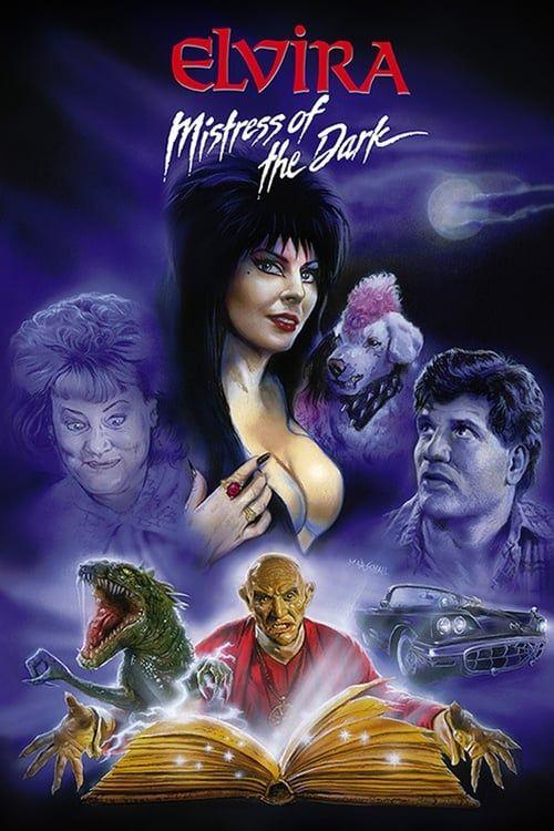 Key visual of Elvira, Mistress of the Dark