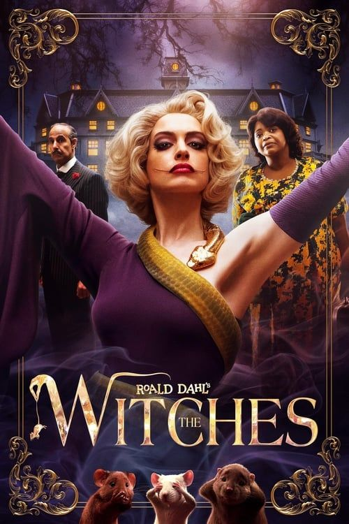 Key visual of Roald Dahl's The Witches