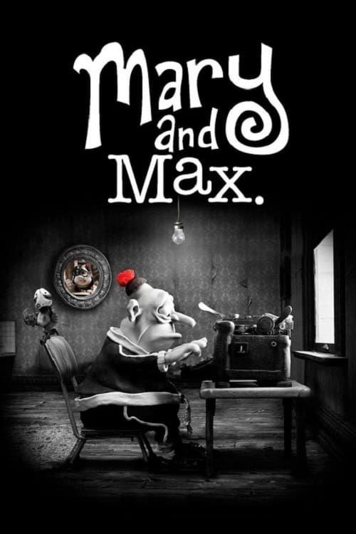 Key visual of Mary and Max