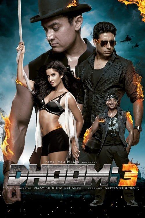 Key visual of Dhoom 3