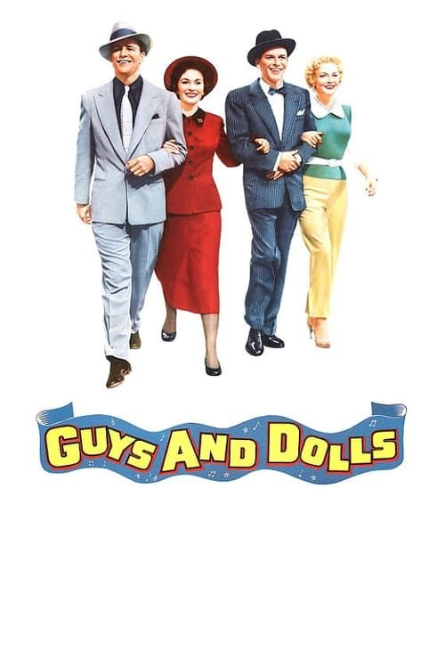 Key visual of Guys and Dolls