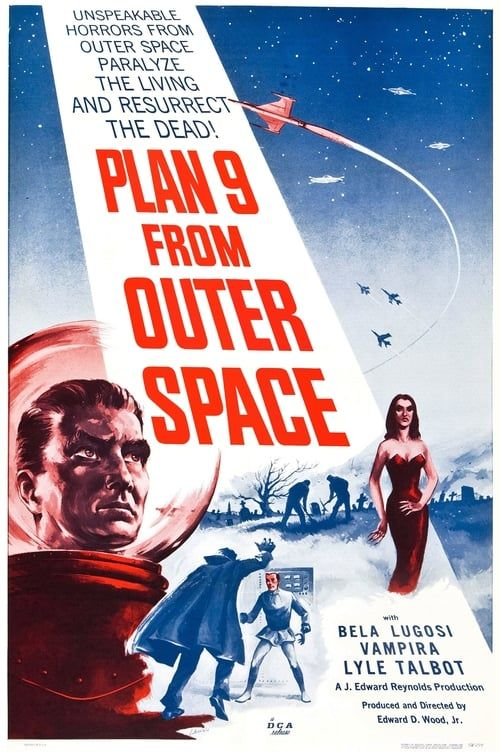 Key visual of Plan 9 from Outer Space