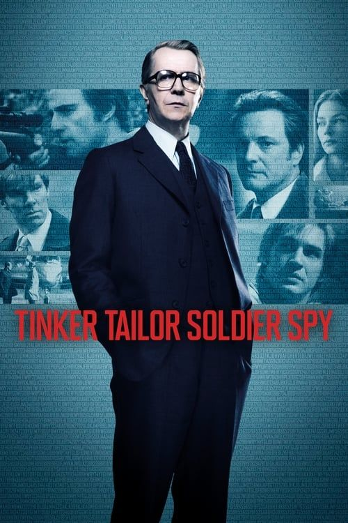 Key visual ofTinker Tailor Soldier Spy