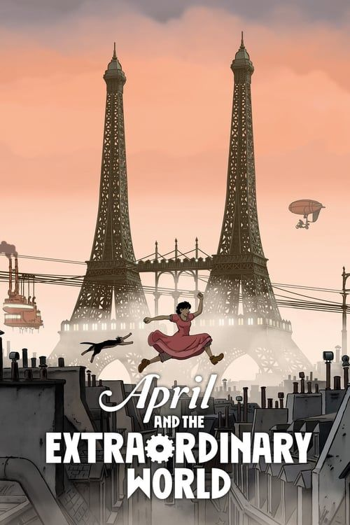 Key visual of April and the Extraordinary World