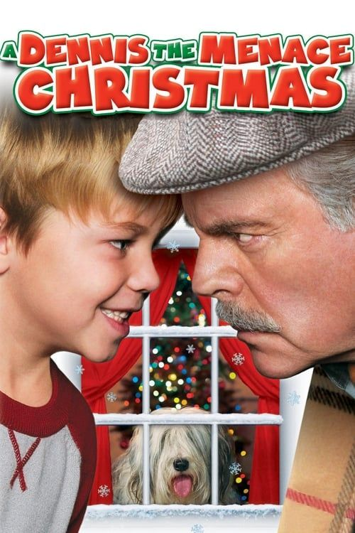 Key visual ofA Dennis the Menace Christmas