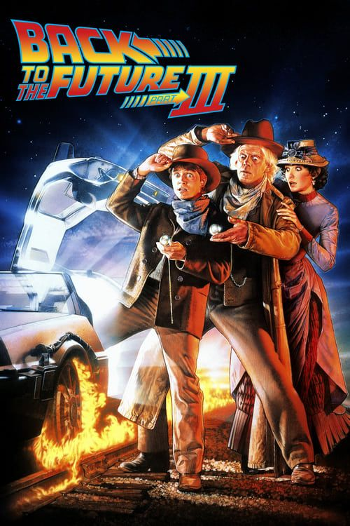 Key visual of Back to the Future Part III