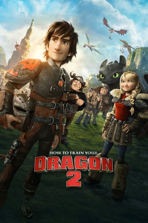 Key visual of How to Train Your Dragon 2