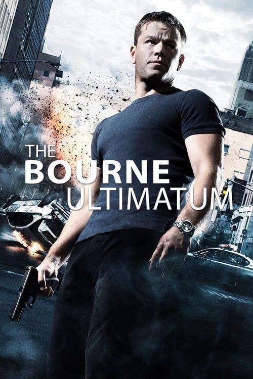 Key visual ofThe Bourne Ultimatum