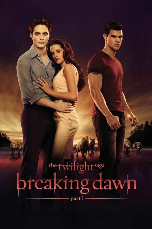 Key visual ofThe Twilight Saga: Breaking Dawn - Part 1