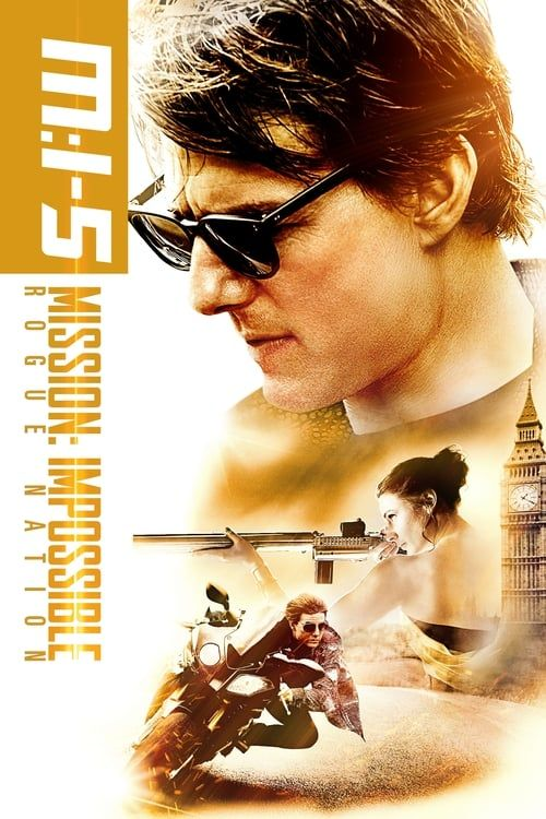 Key visual of Mission: Impossible - Rogue Nation