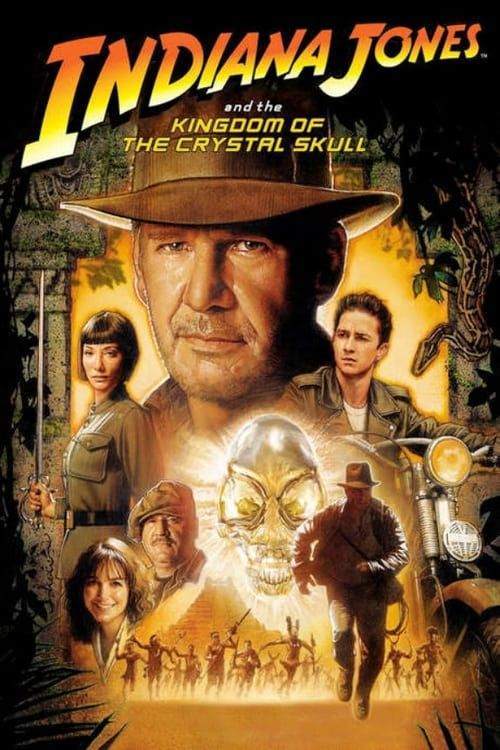 Key visual ofIndiana Jones and the Kingdom of the Crystal Skull