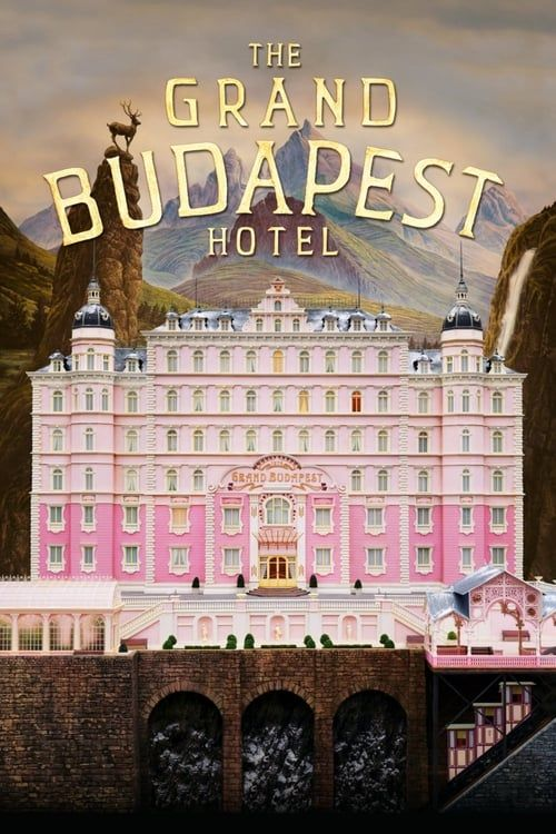 Key visual ofThe Grand Budapest Hotel