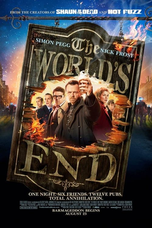 Key visual of The World's End