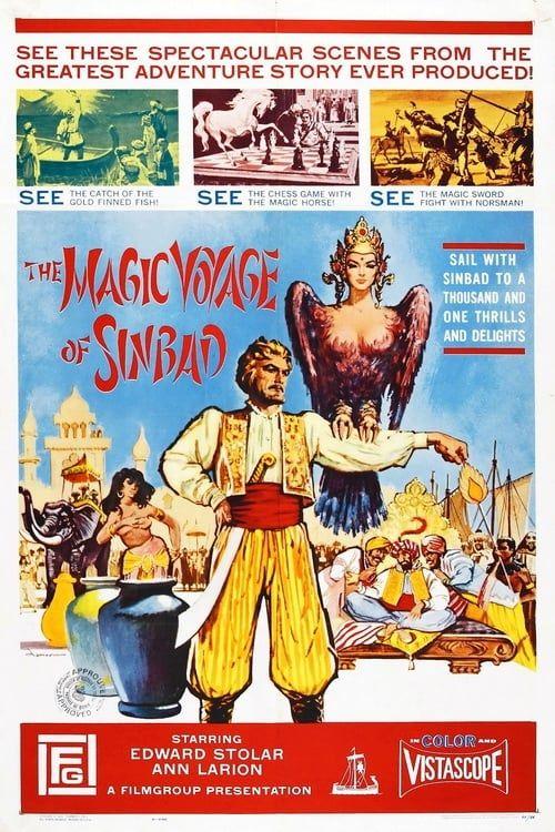 Key visual of The Magic Voyage of Sinbad