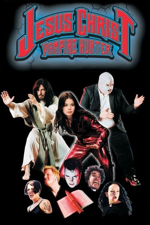 Key visual of Jesus Christ Vampire Hunter