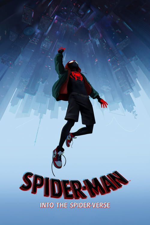 Key visual of Spider-Man: Into the Spider-Verse