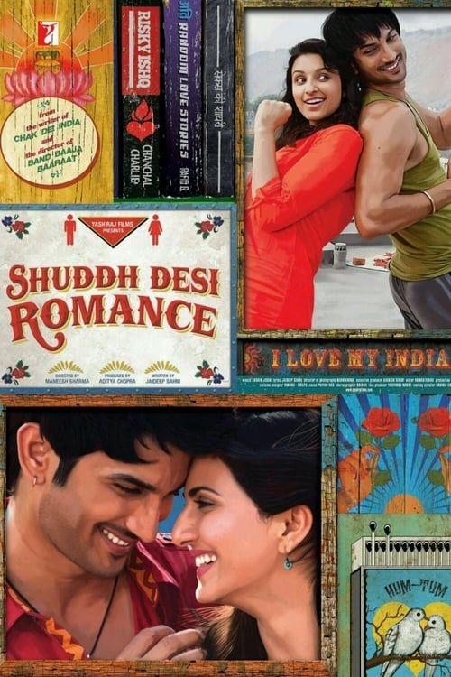 Key visual of Shuddh Desi Romance