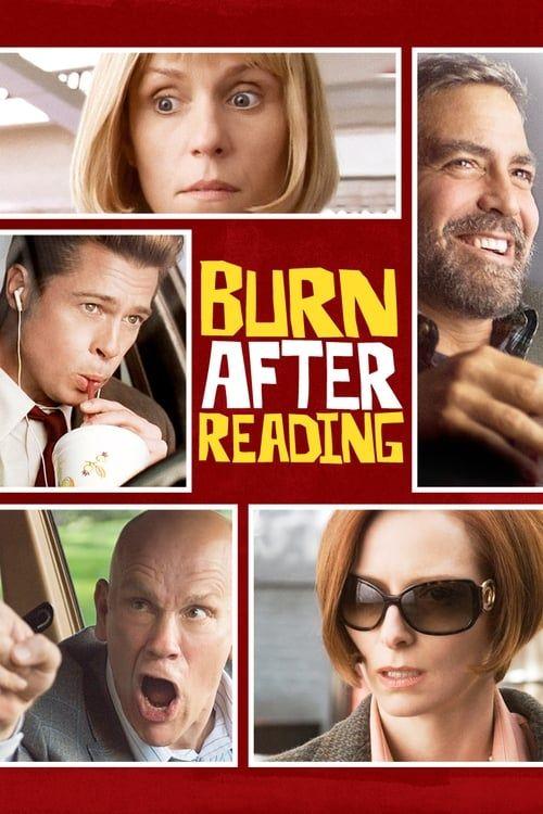 Key visual of Burn After Reading