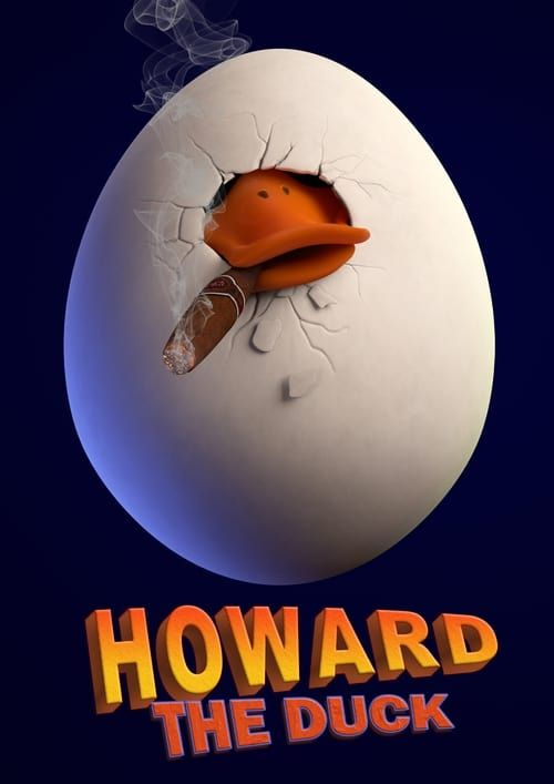 Key visual ofHoward the Duck