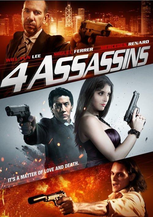 Key visual of Four Assassins