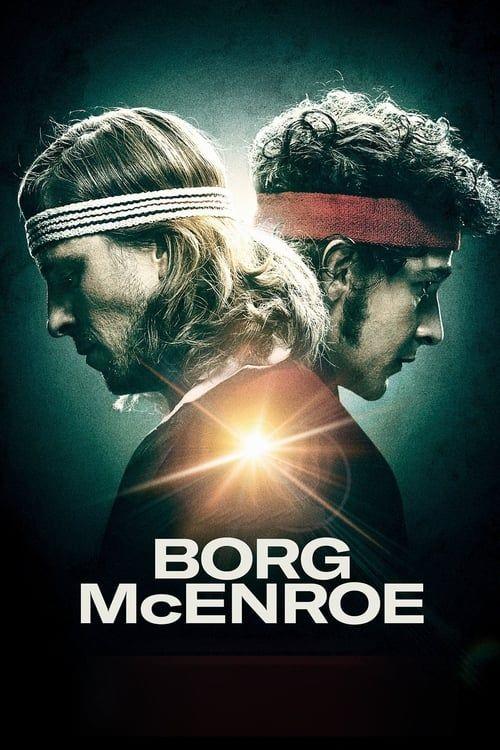 Key visual of Borg vs McEnroe